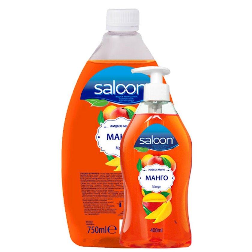 Maye sabun dozator ilə Saloon Mango 400+750 ml