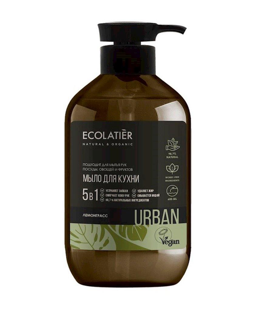 Maye sabun əllər üçün Ecolatier Lemongrass mətbəx üçün 600 ml