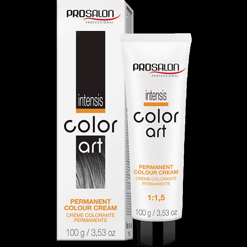 Saç üçün krem-boya Prosalon Intensis Color Art 2/0 Çox tünd şaten 100 ml