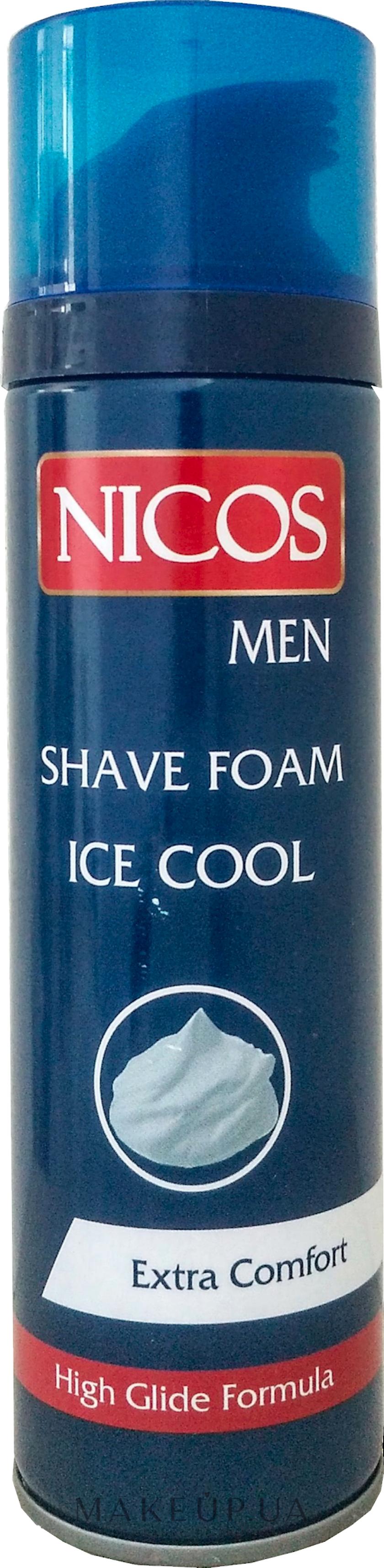 Təraş köpüyü Nicos Ice Cool Extra Comfort 200 ml