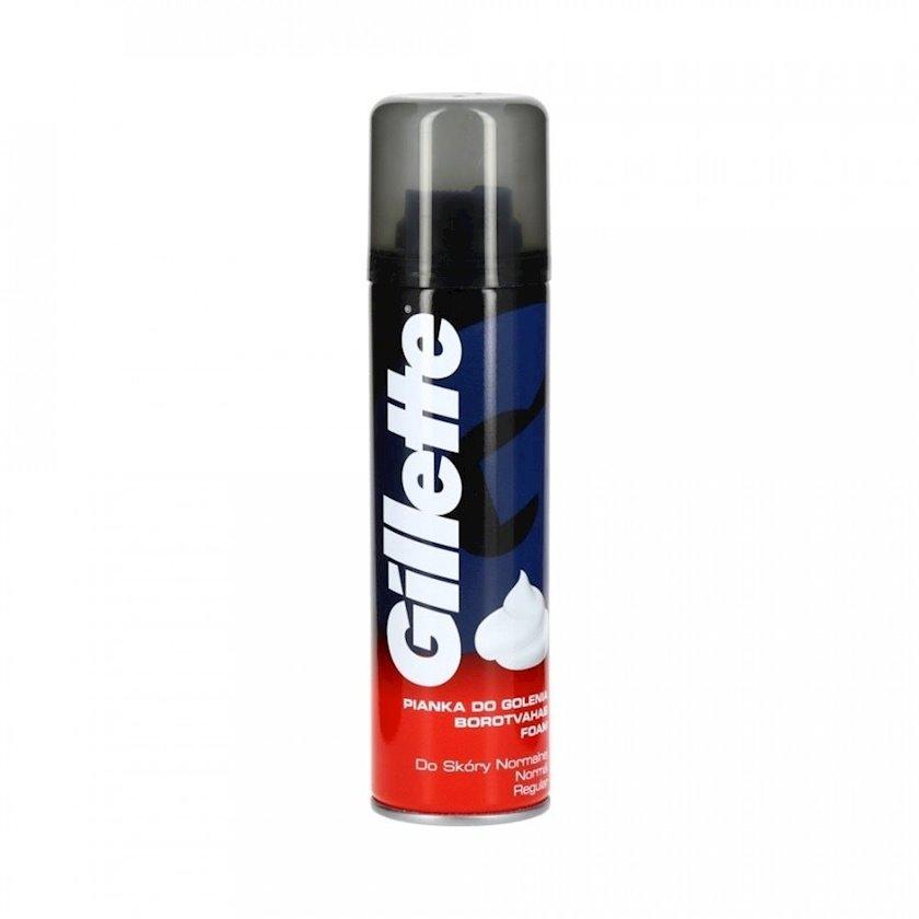 Təraş köpüyü Gillette Regular 200 ml