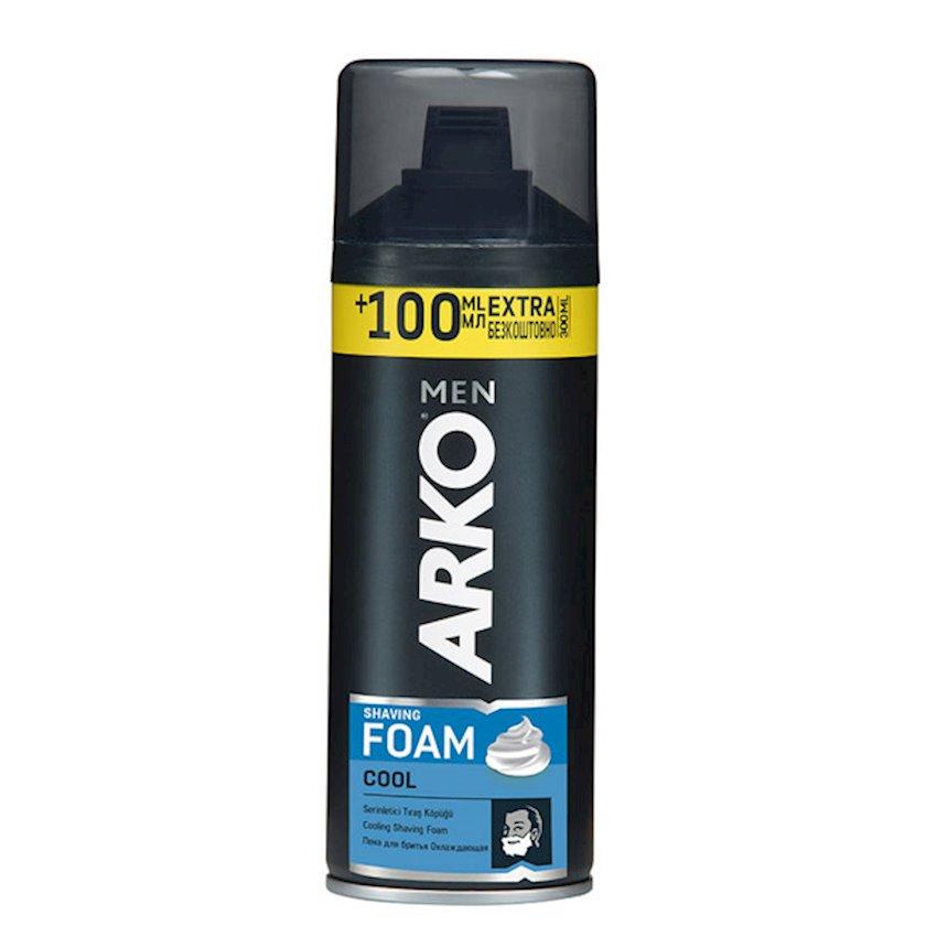 Təraş köpüyü Arko Cool 200 ml+100 ml