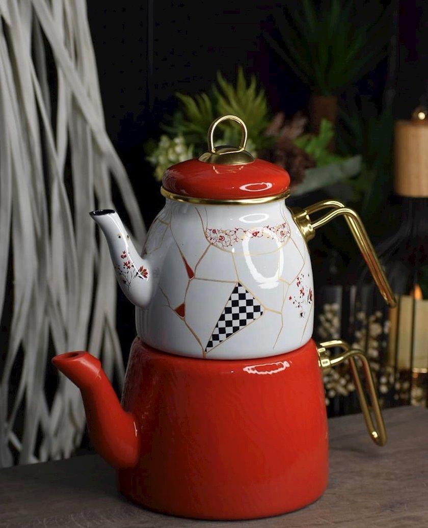 Çaydan Acar Anka, ağ/qırmızı, 3 l