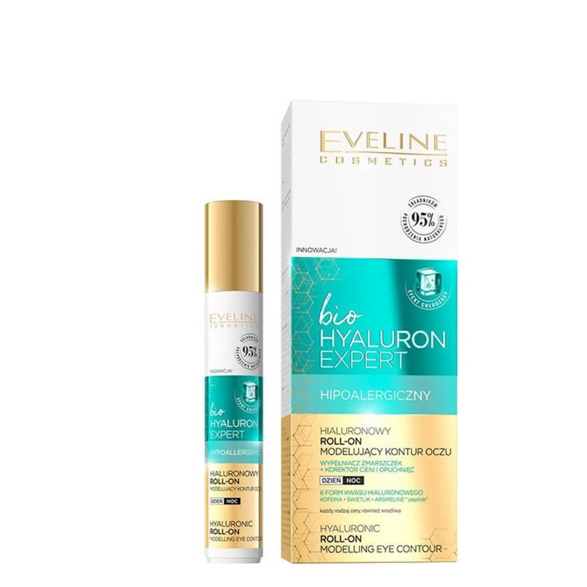 Gel göz altı üçün Eveline Bio Hyaluron Expert Liftinq Effekti ilə 15 ml