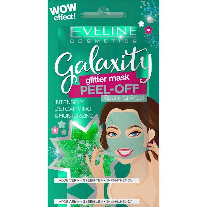 Təmizləyici maska üz üçün Eveline Galaxity Peel-OFF Sparkling Angel 10 q