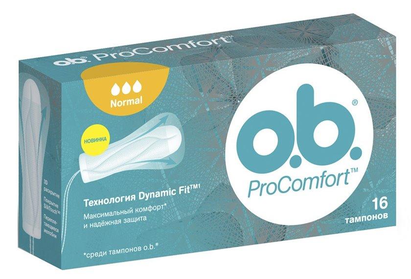 Tamponlar o.b. ProComfort Normal 16 ədəd