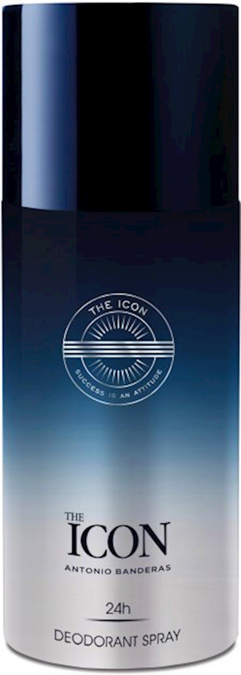 Kişi dezodorantı Antonio Banderas The Icon 24H Deo 150 ml