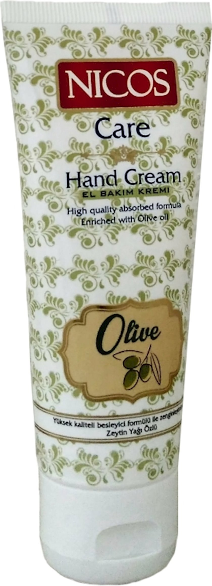 Əl kremi Nicos Olive Oil, 75 ml