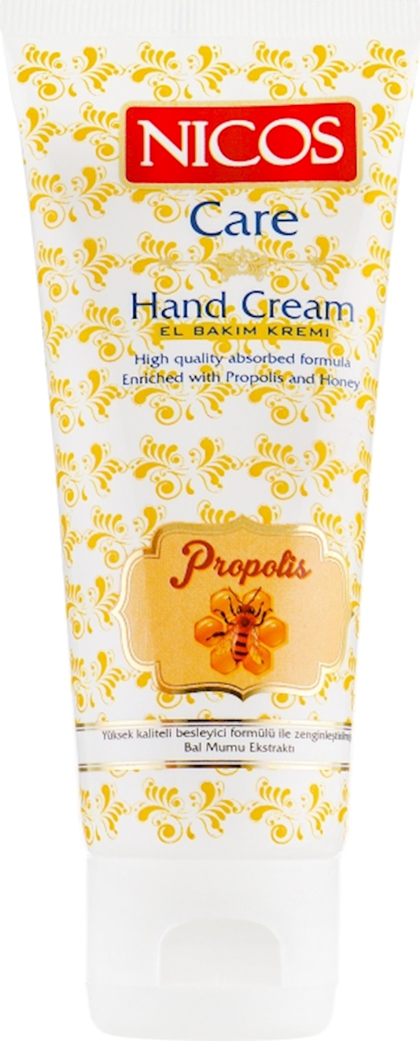 Əl kremi Nicos Propolis and Honey, 75 ml
