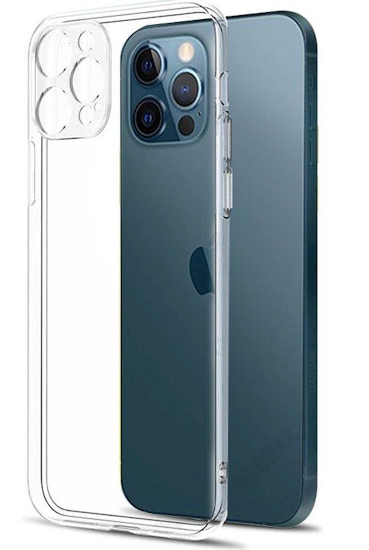 Çexol Virgin Silicone (2.0)  Apple iPhone 12 Pro üçün Transparent