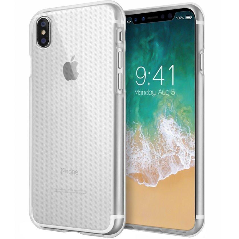 Çexol Virgin Silicone (2.0)  Apple iPhone Xs Max üçün Transparent
