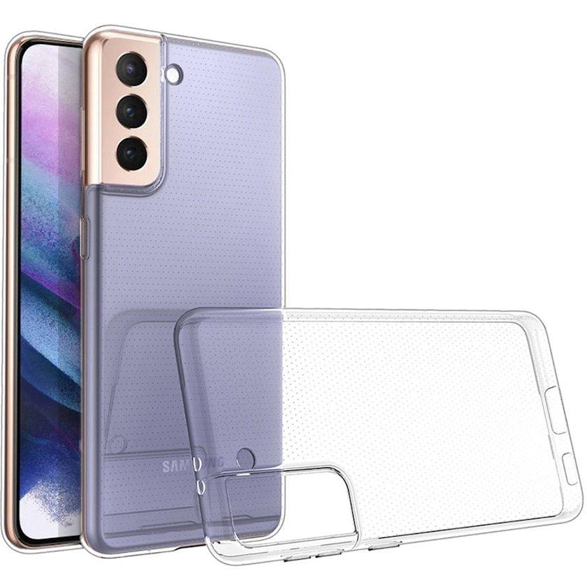 Çexol Virgin Silicone (2.0) Samsung Galaxy S21 Plus üçün Transparent