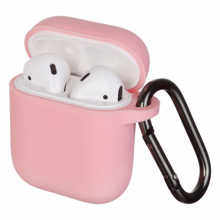 Qulaqlıq üçün çexol YO Airpods 1/2 Slim with Carbine Pink