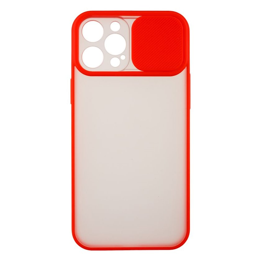 Çexol YO Camshield Color Apple iPhone 12 Pro Max üçün  Red