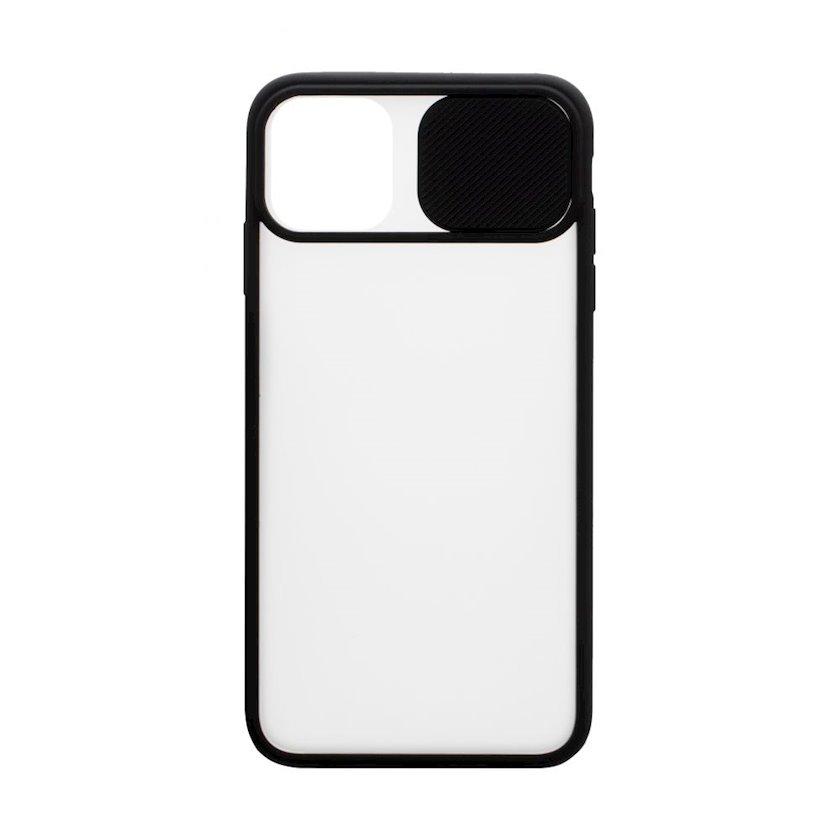 Çexol YO Camshield Color Apple iPhone 11 üçün Black