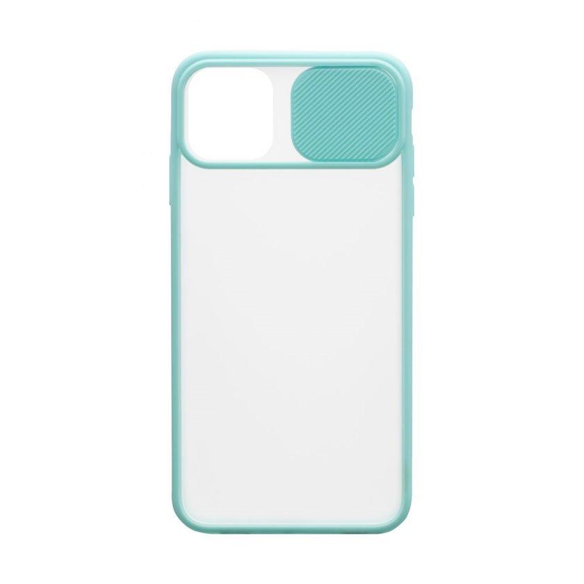 Çexol YO Camshield Color Apple iPhone 11 üçün Light Blue