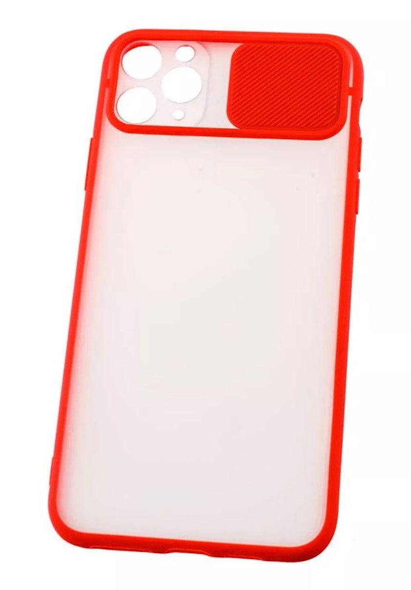 Çexol YO Camshield Color Apple iPhone 11 Pro üçün  Red