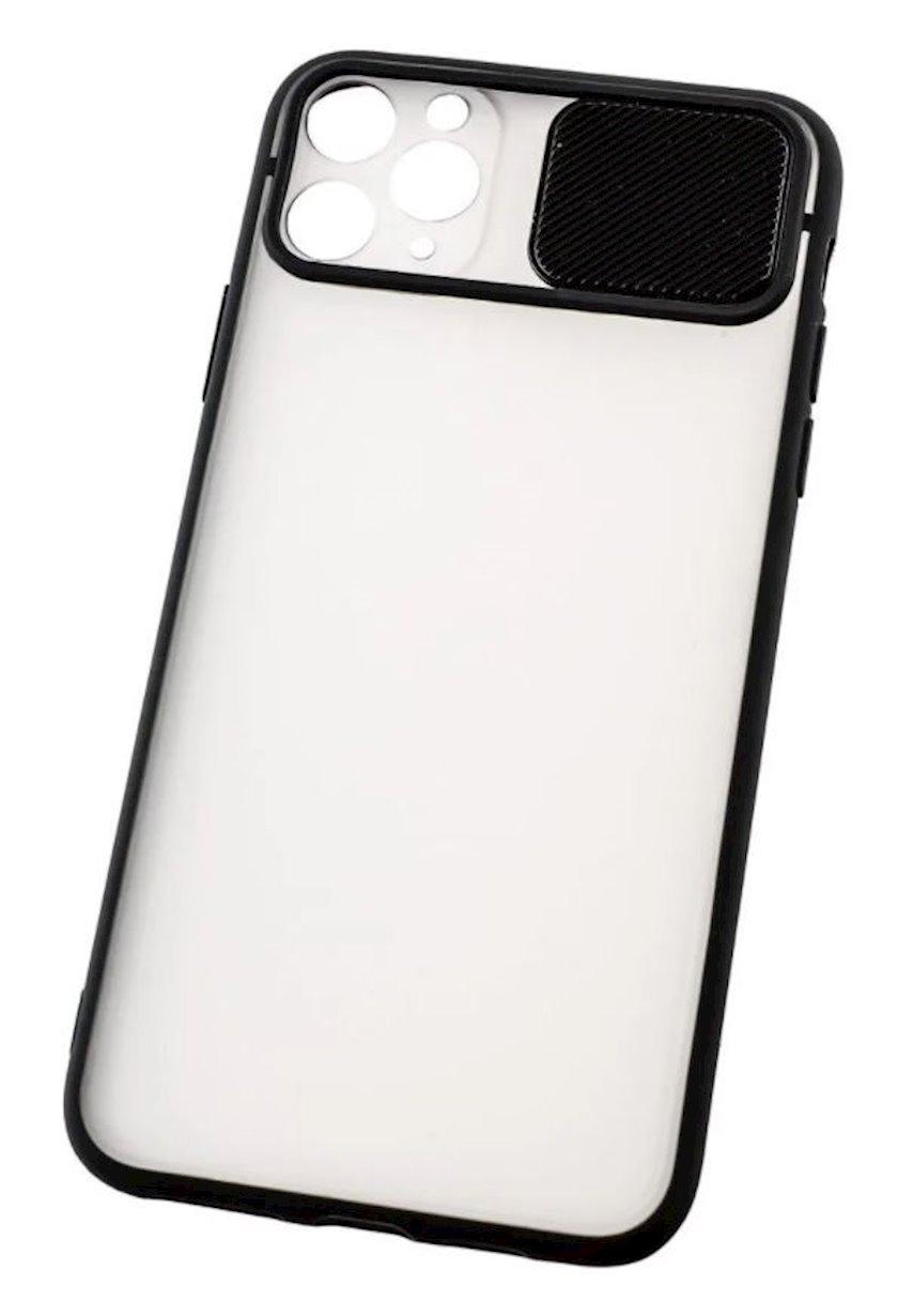 Çexol YO Camshield Color Apple iPhone 11 Pro üçün  Black