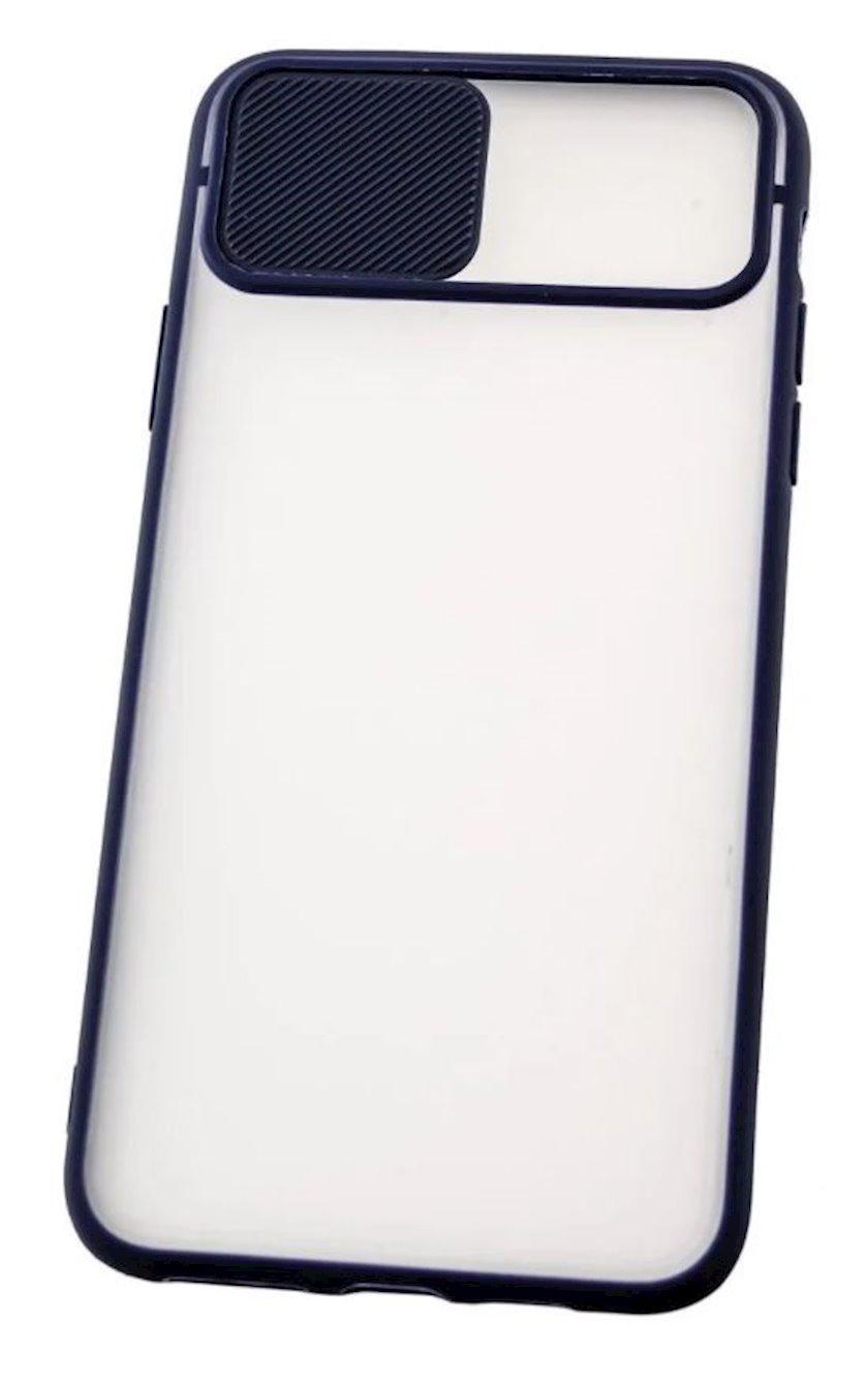 Çexol YO Camshield Color Apple iPhone 11 Pro üçün  Blue