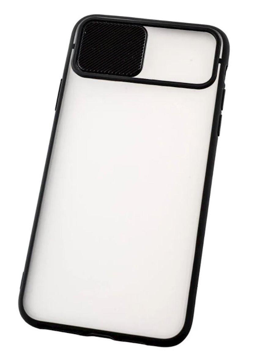 Çexol YO Camshield Color Apple iPhone 11 Pro Max üçün Black