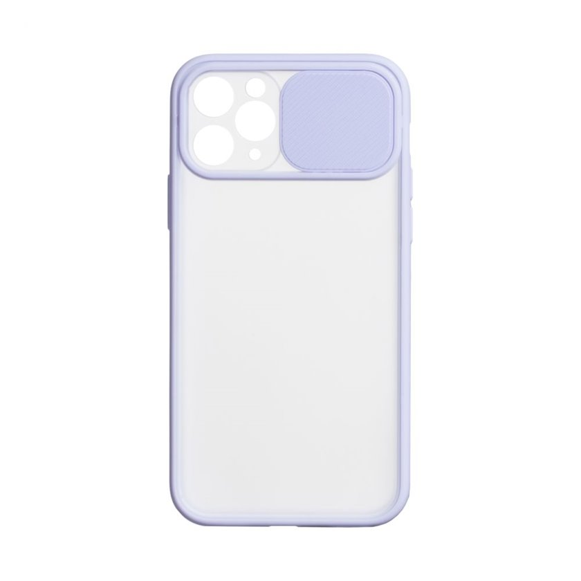 Çexol YO Camshield Color Apple iPhone 11 Pro Max üçün Purple