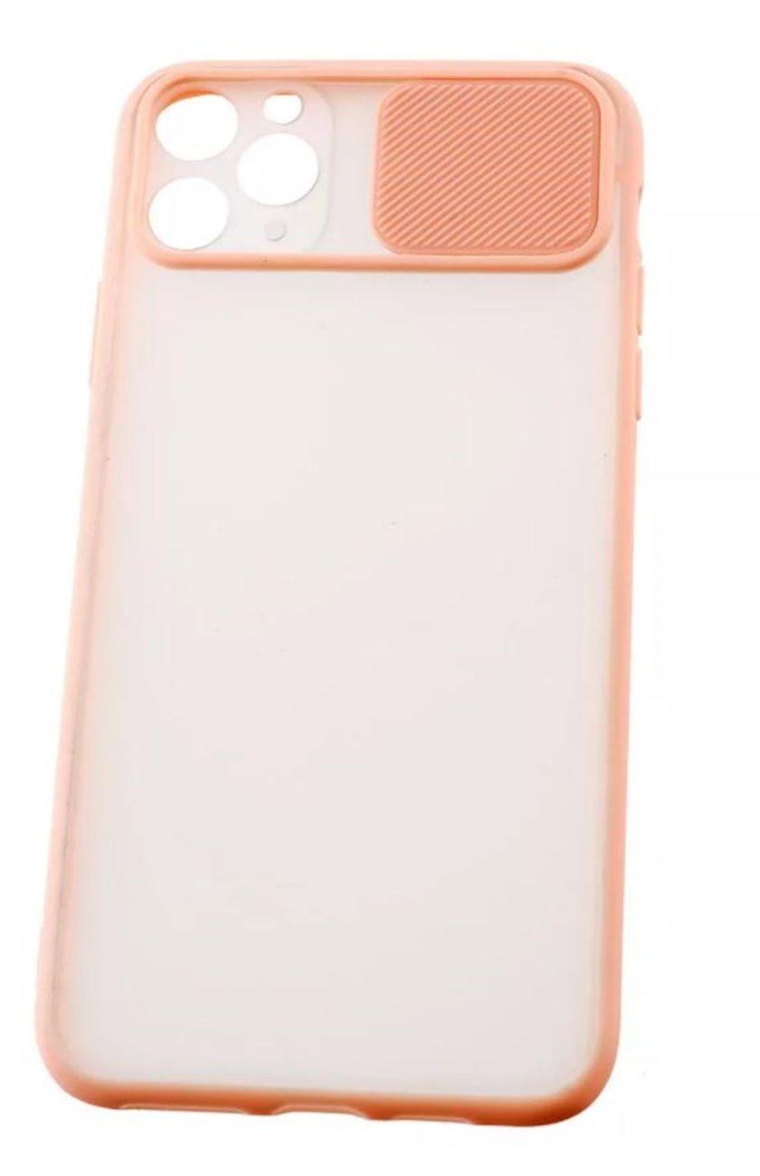 Çexol YO Camshield Color Apple iPhone 11 Pro Max üçün Pink