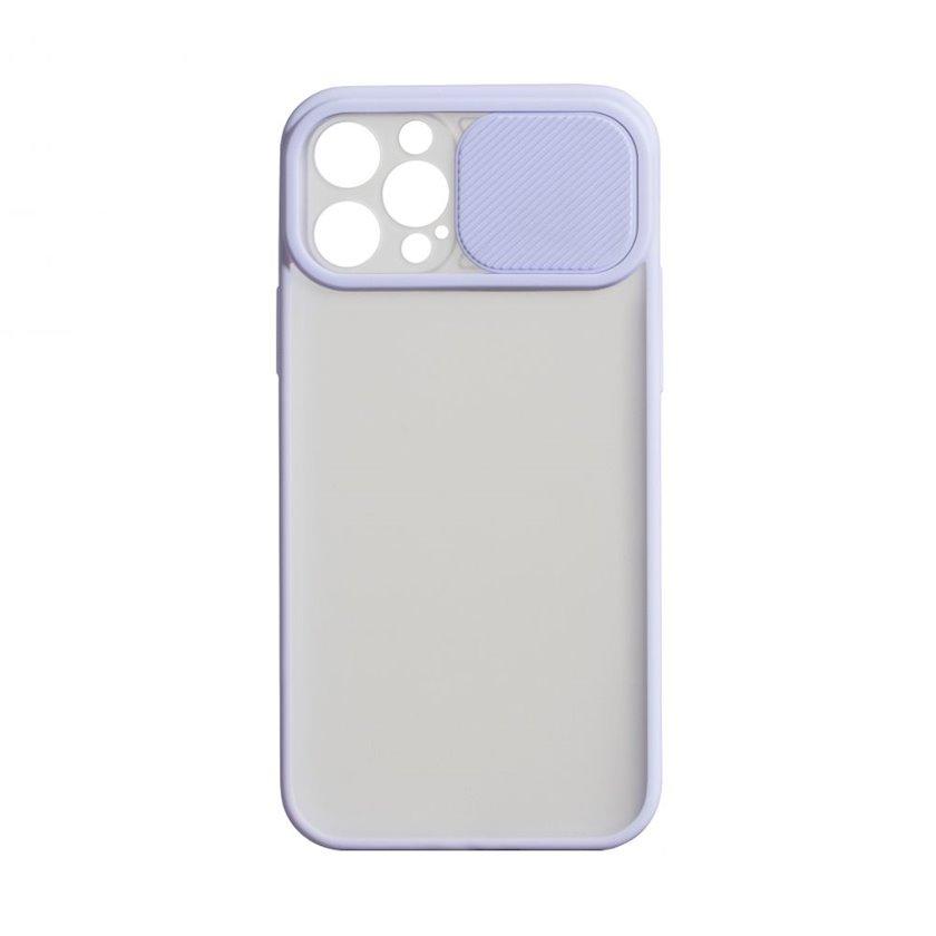 Çexol YO Camshield Color Apple iPhone 12 / 12 Pro üçün  Purple