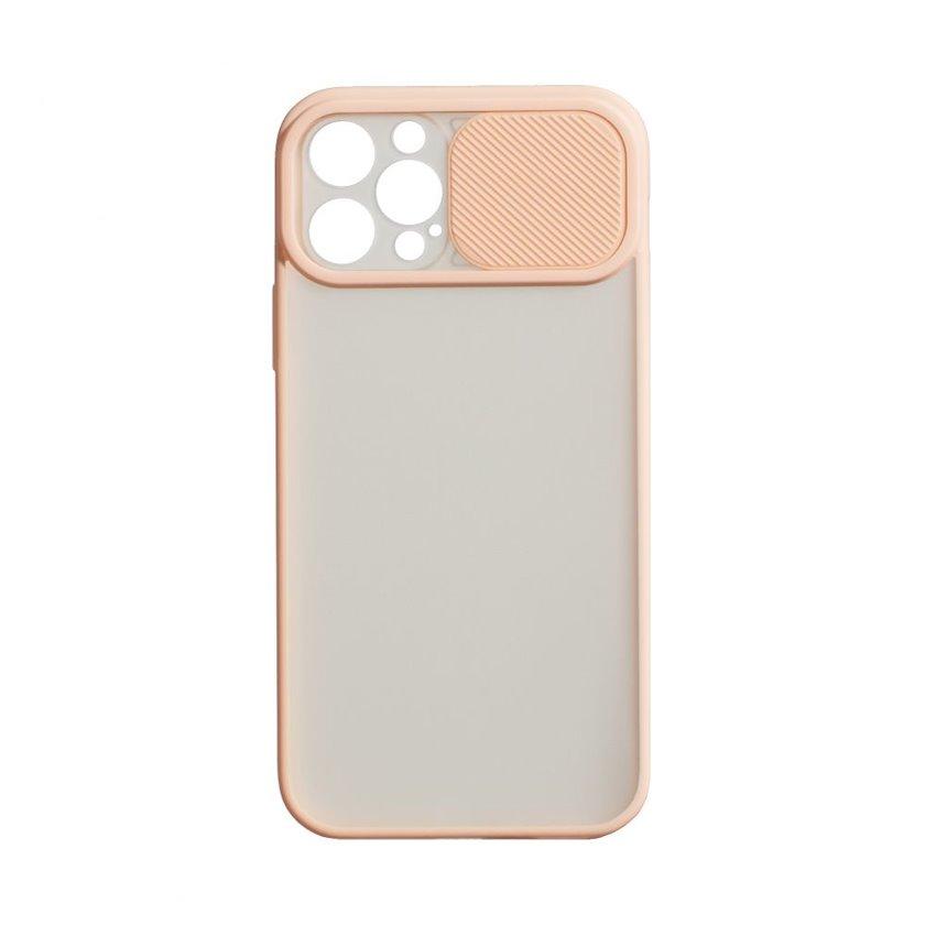 Çexol YO Camshield Color Apple iPhone 12 / 12 Pro üçün  Pink