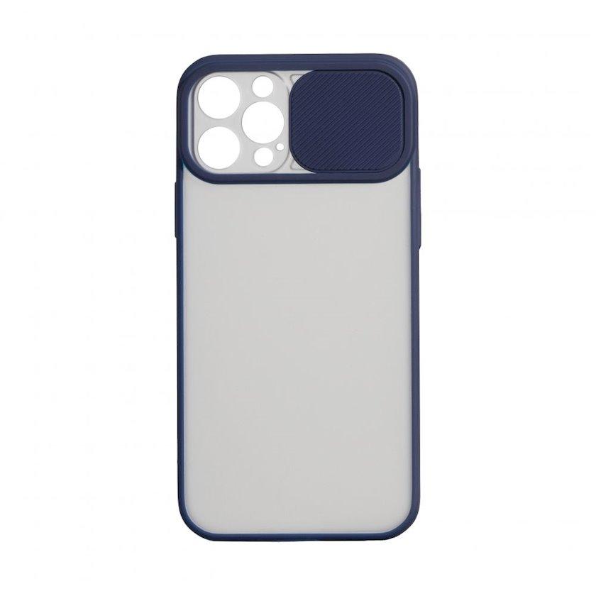 Çexol YO Camshield Color Apple iPhone 12 / 12 Pro üçün  Blue