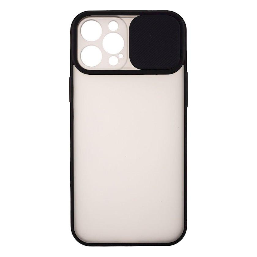 Çexol YO Camshield Color Apple iPhone 12 Pro Max üçün  Black