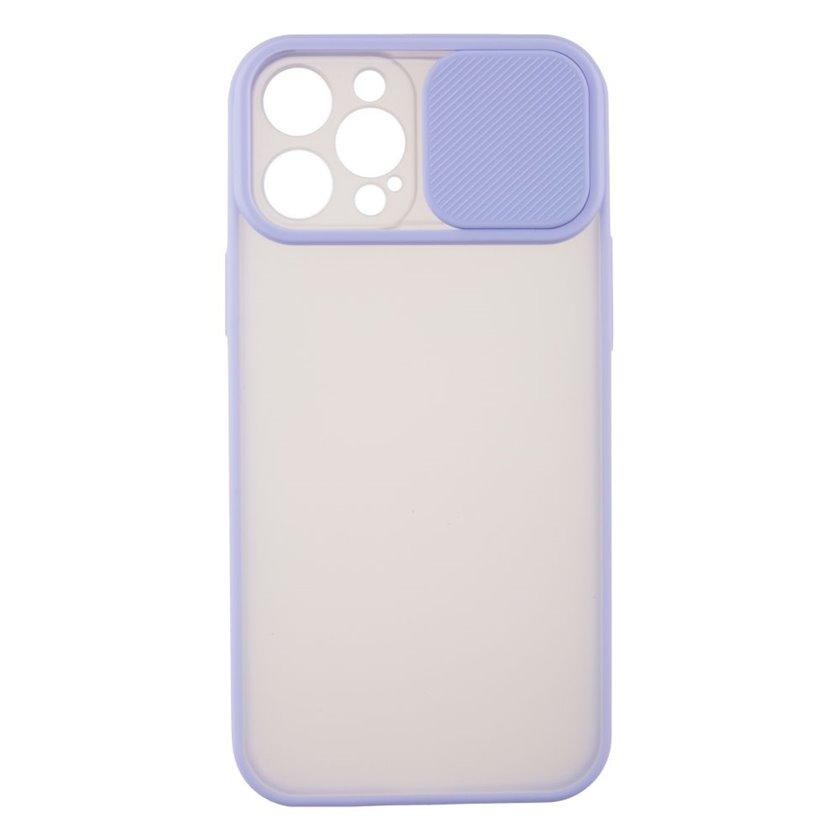 Çexol YO Camshield Color Apple iPhone 12 Pro Max üçün  Purple