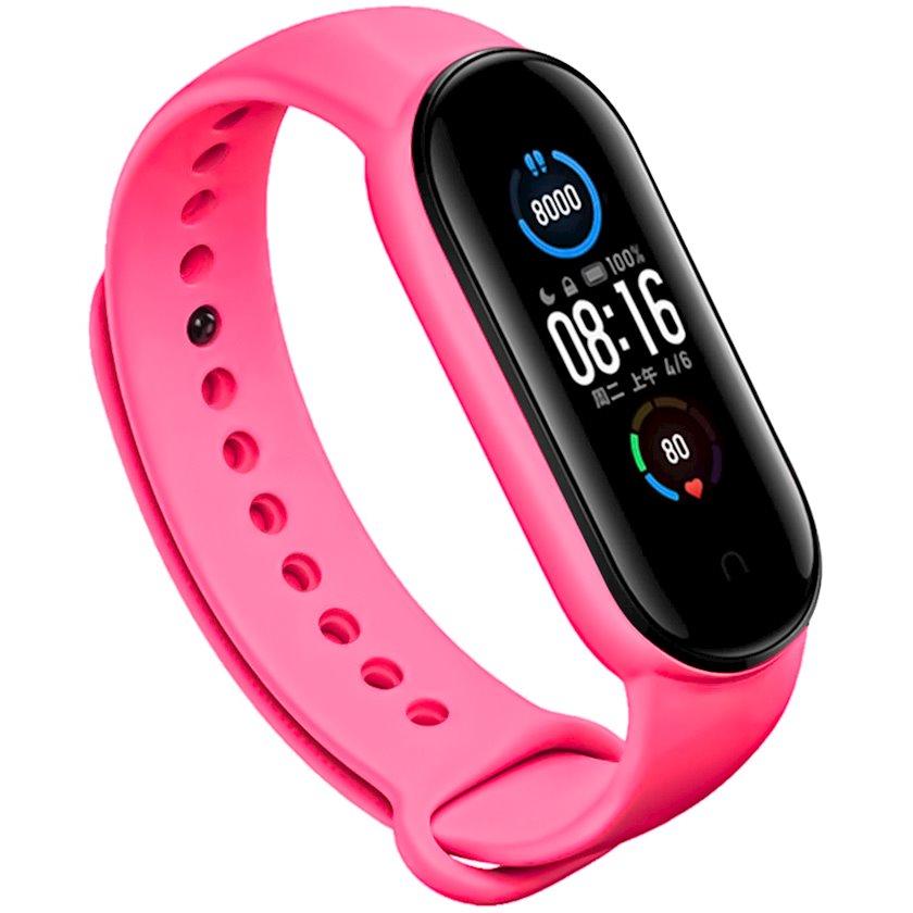 Kəmər YO Xiaomi Mi Band 5/6 üçün Pink
