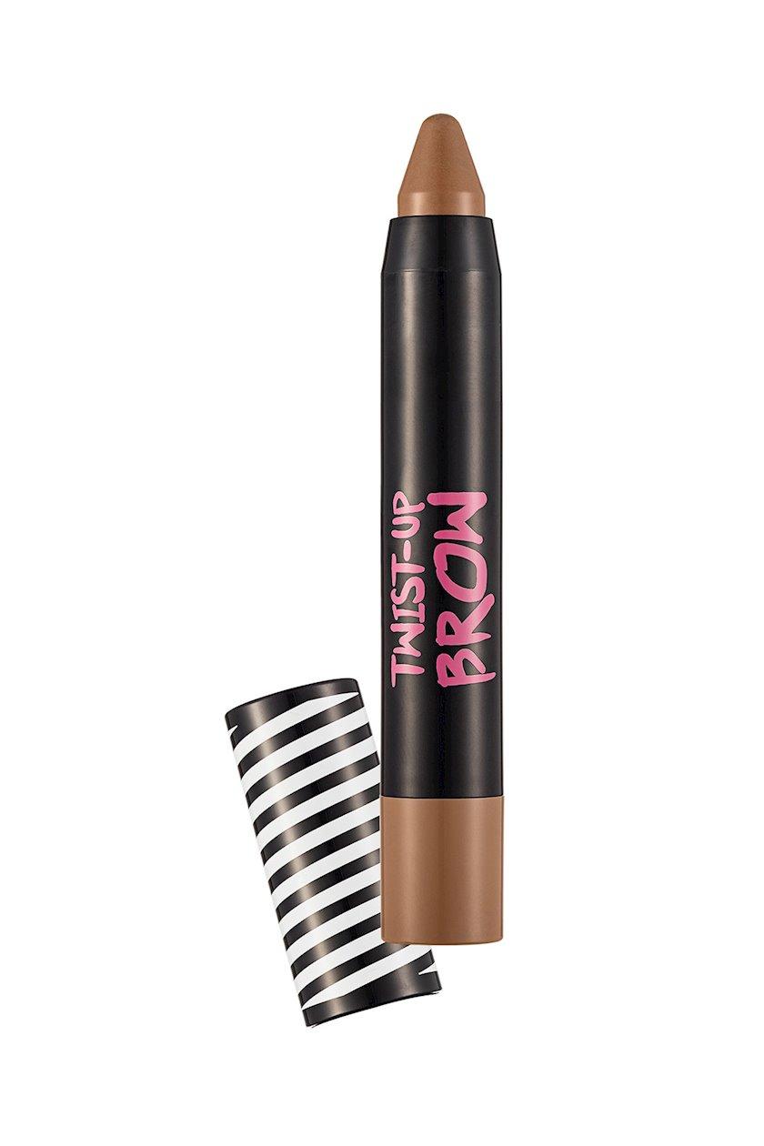Qaş qələmi Flormar Twist Up Brow Crayon 01 Light Brown, 3.2 q