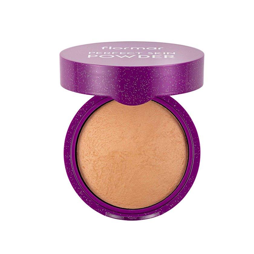 Üz üçün kompakt kirşan Flormar Perfect Skin 04 Dark Medium, 9 q