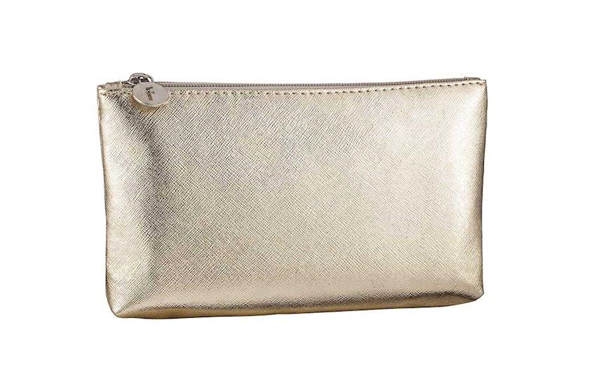 Kosmetik çanta Flormar, qızılı