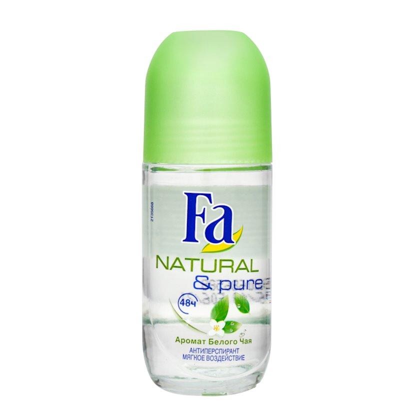 Dezodorant-antiperspirant Fa Natural və Pure Yaşıl çay