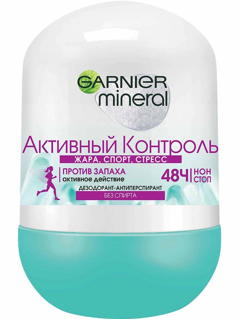 Antiperspirant Garnier Mineral aktiv kontrol, diyircəkli