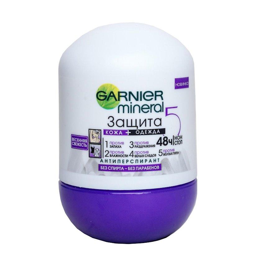 Antiperspirant  Garnier Mineral müdafiə 6 Yaz təravəti , diyircəkli