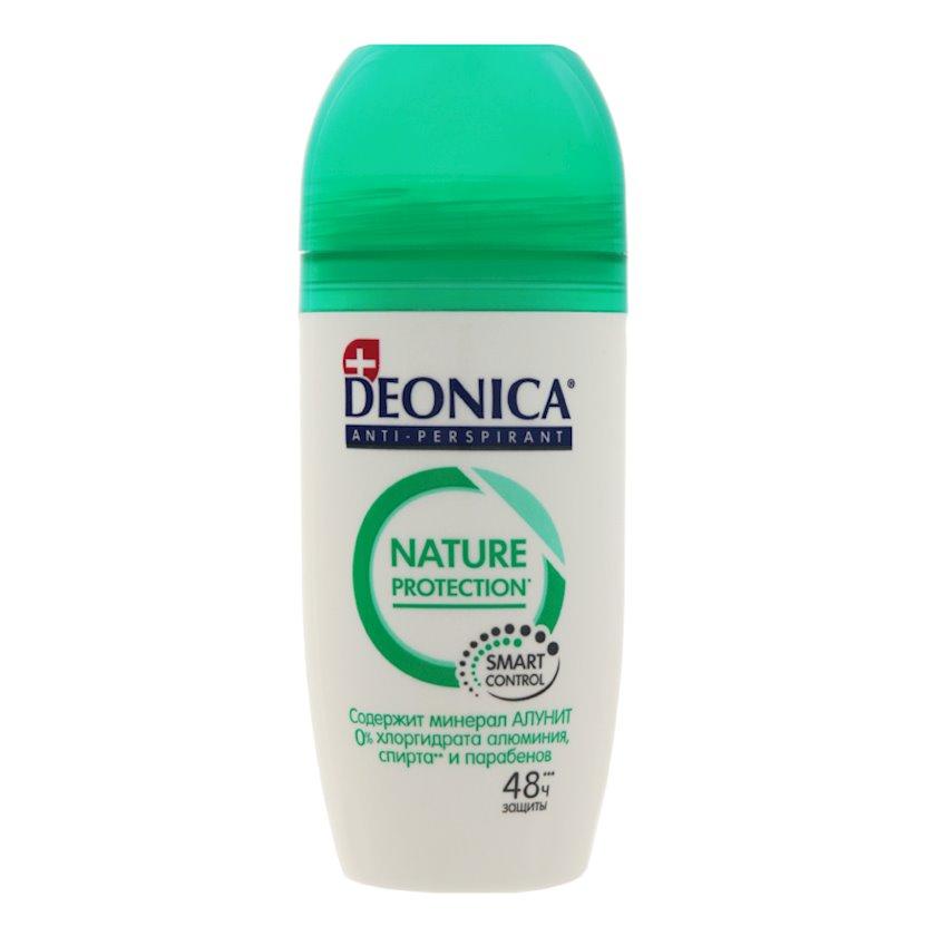 Dezodorant-antiperspirant Deonica Nature Protection, diyircəkli