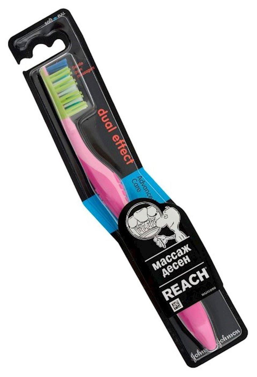 Diş fırçası Reach Dual Effect Yumşaq