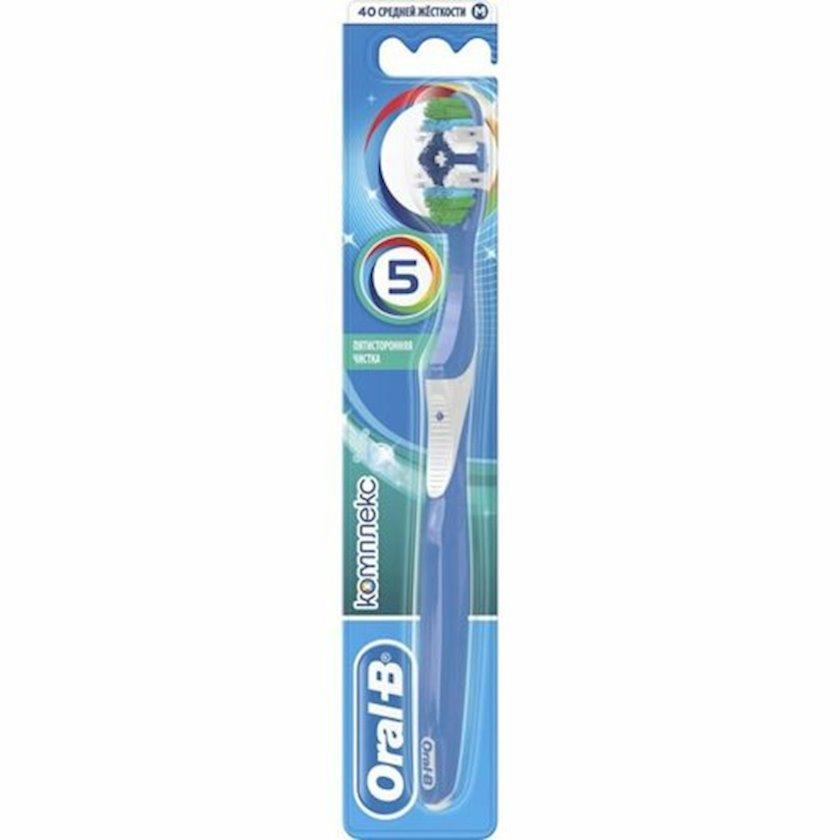 Diş fırçası Oral-B Kompleks Beş tərəfli təmizləmə orta sərtlikli