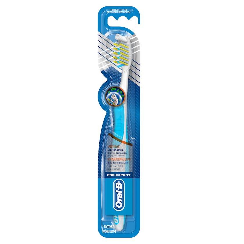 Diş fırçası Oral-B Pro-Expert  Antibakterial orta sərtlikli