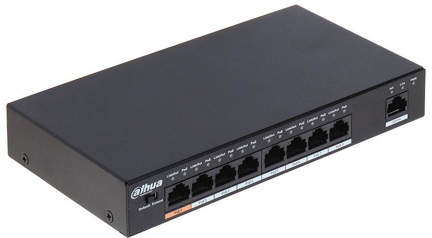 Kommutator Dahua Technology PFS3009-8ET-96, 8 portlu, idarəolunmayan