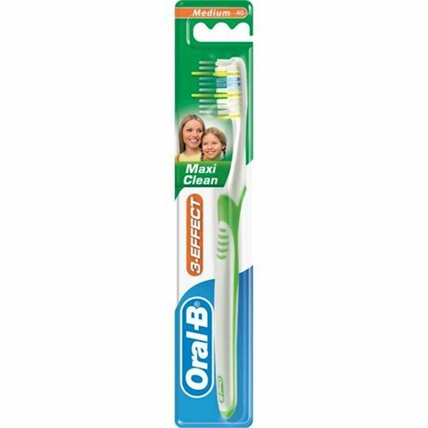 Diş fırçası Oral-B 3-Effekt Maxi Clean orta sərtlikli