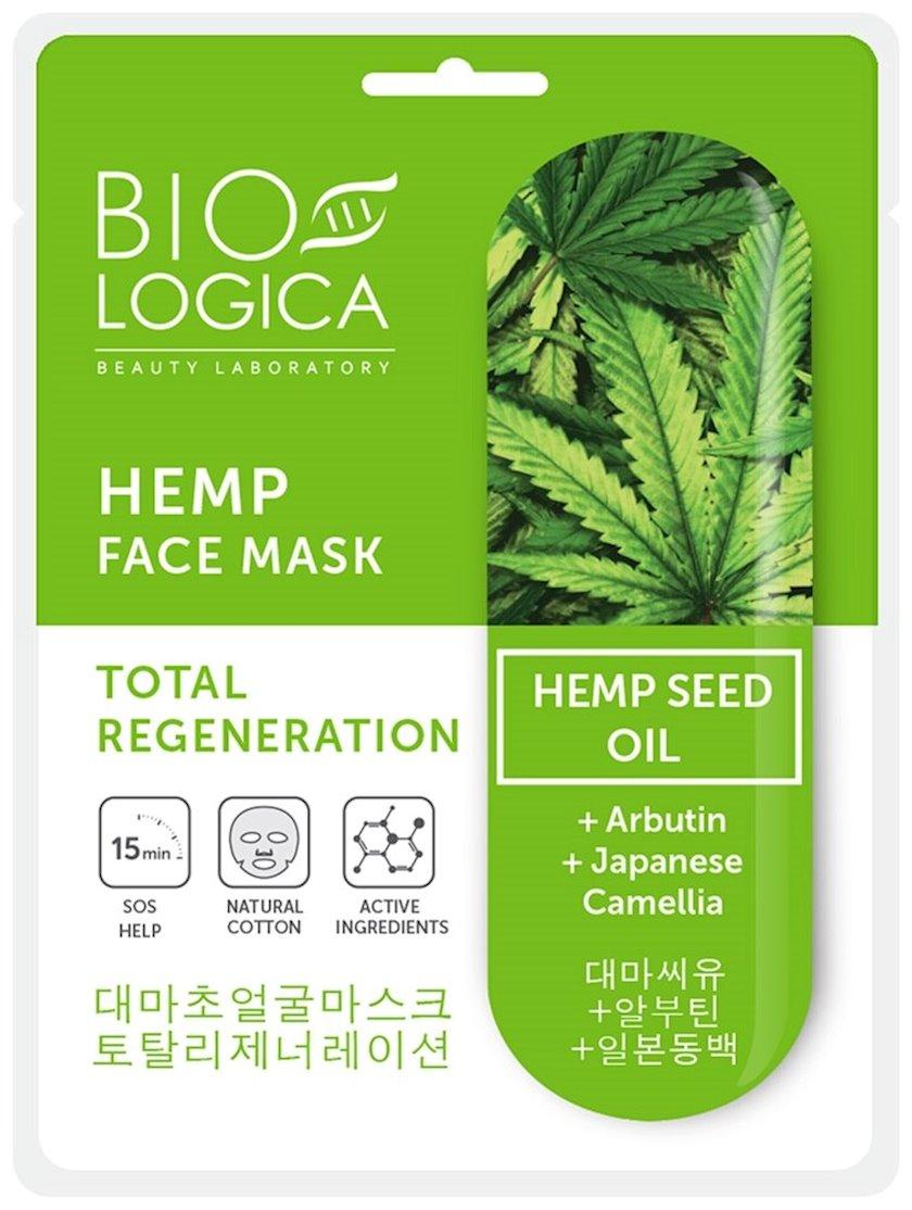 Parça maskası Biologica Hemp Face Mask 22 ml