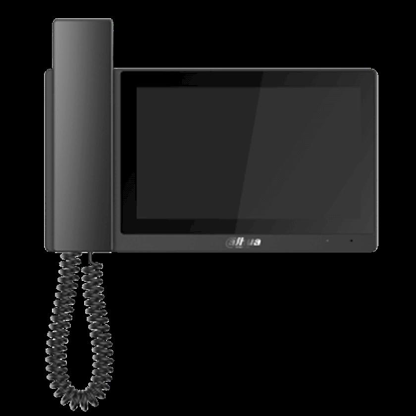 7 düymlü videodomofon IP monitoru VTH5421E-H, Qara