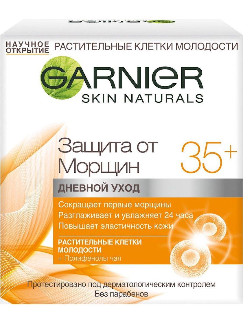 Üz üçün gündüz kremi Garnier Skin Naturals Qırışlardan müdafiə 35+, 50 ml