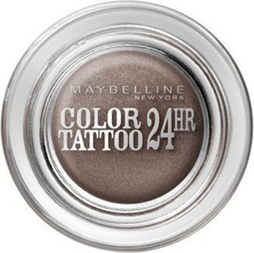 Gel tipli kremli göz kölgəsi Maybelline New York Color Tattoo 24H №40 Permanent Taupe