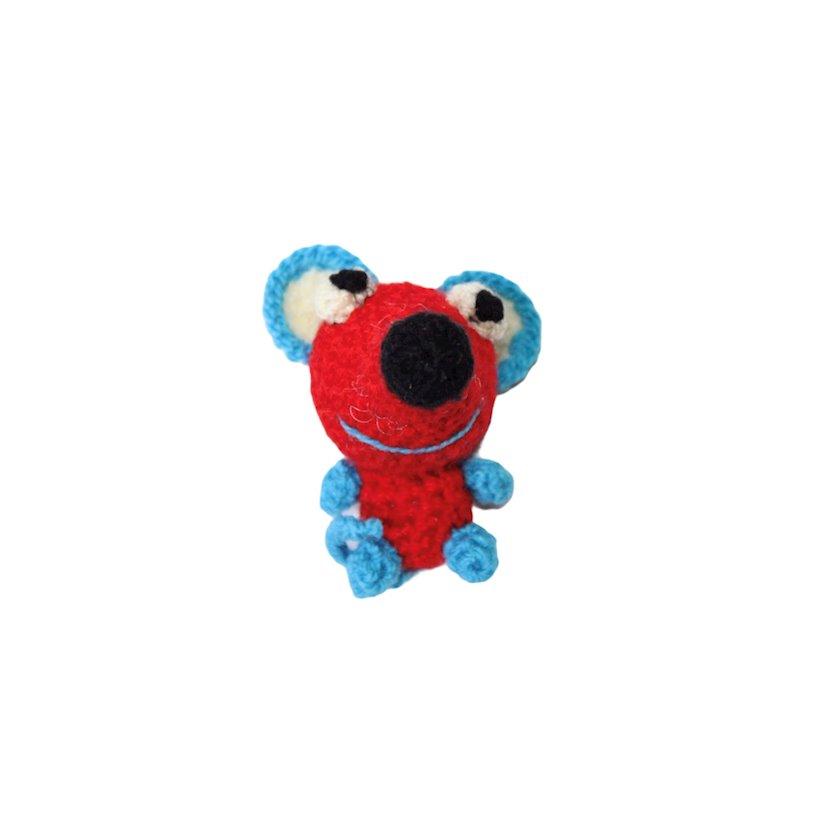 Toxunmuş oyuncaq ZooMir Siçan, qırmızı/mavi