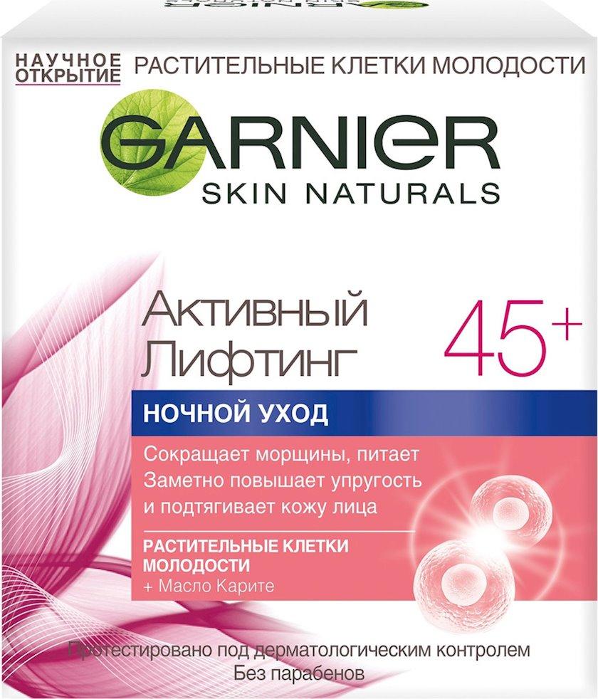 Gecə kremi Garnier Skin Naturals Aktiv Liftinq 45+ 50 ml